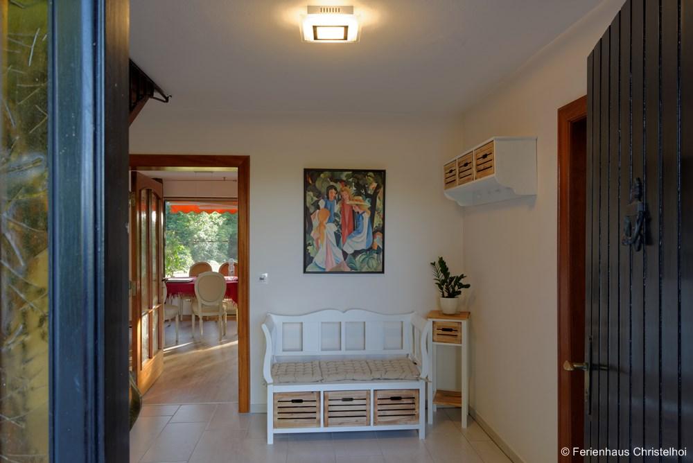 Entrance hall of the Christelhoi holiday home